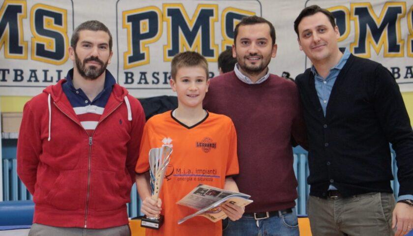 Marco Fogliato MVP Torneo Nazionale Minibasket