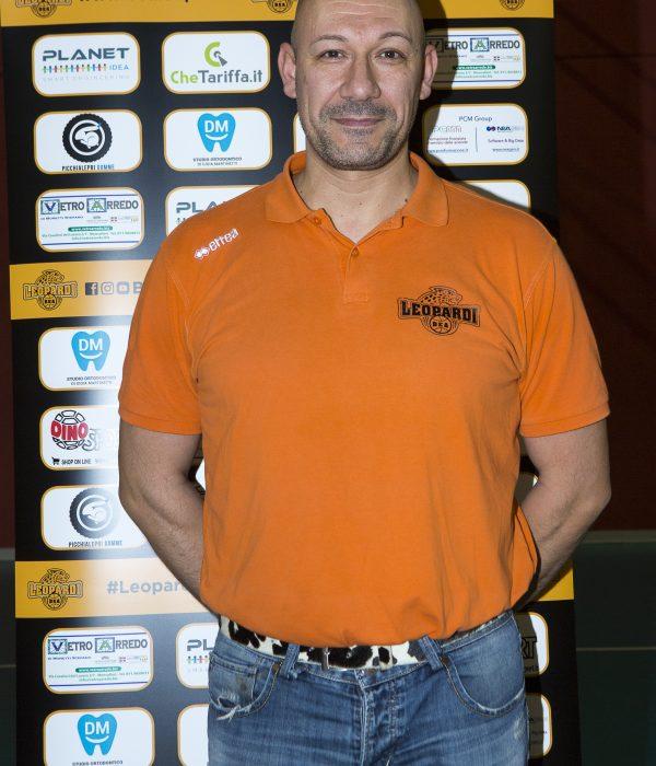 Fabrizio Mazzardis BEA Leopardi Chieri Basket